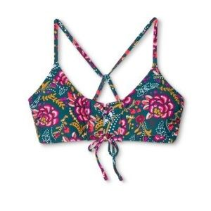 Floral Swimsuit Top